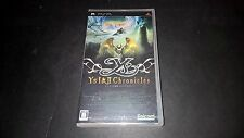 New PSP Ys I and II Chronicles Falcom Japanese Game Rare