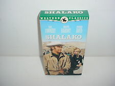 Shalako VHS Video Tape Movie Sean Connery Bridgette Bardot