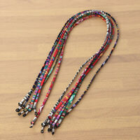 6pcs Eyeglass Holder Chains Fixed Non Slip Glasses Rope Glasses Chain for Unisex