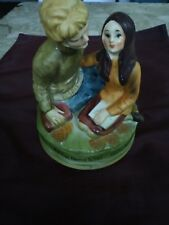 """1971 Chadwick Miller Rotating Music Box Playing The Theme to """"Love Story"""" Japan"""