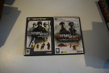 lot company of heroes game of the year goty + opping fronts pc-dvd pc
