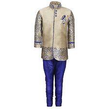 Kids Party Wear Suit Set for Boys Blue Size-1T