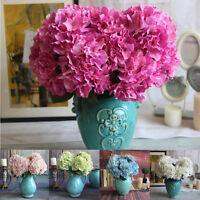 Refresh 5 Head Artificial Fake Silk Flowers Wedding Bouquet Home Garden Decor