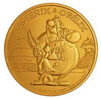 OFFICIEL ! monnaie de Paris jeton mini médaille OBELIX Obélix de BD ASTERIX