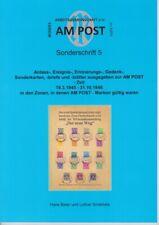 "AM POST Sonderschrift 5 "" Anlass-, Ereignis-, Gedenkblätter zur AM POST - Zeit"