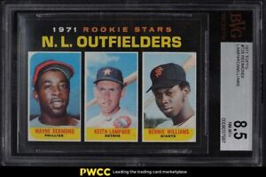 1971 Topps N.L. Rookies #728 BVG 8.5 NM-MT+
