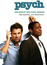 Psych: The Eighth and Final Season (DVD, 2014, 3-Disc Set) BRAND NEW SEALED