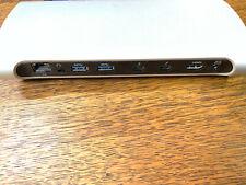 Belkin Thunderbolt 3 USB 3.0 USB-C Express Dock Station HD F4U085