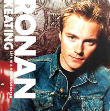 Ronan Keating CD Single Life Is A Rollercoaster - Europe (VG+/EX+)