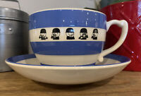 Rare Homepride Jumbo Cup and Saucer T. G. Green Cornish Blue
