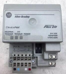 1794-ADN /B Allen Bradley DeviceNet FLEX I/O 24V Adapter