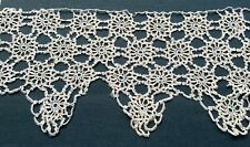Unusual Antique/vintage Tatting Tatted Lace Trim