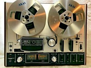 AKAI 4000DS MKII  STEREO TAPE DECK REEL TO REEL # 142  -  EXCELLENT - SEE VIDEO