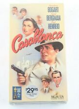 Casablanca VHS Humphrey Bogart Ingrid Bergman Paul Henreid MGM UA Home Video