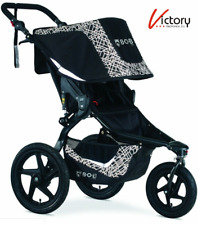 New Bob Revolution Flex 3.0 Single Jogging Stroller | U971950 | Lunar Black
