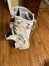 Stitch Sl2 Golf Bag White With Gray Trim
