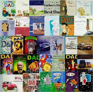 Dad - Father's Day Card FATHERS DAY - Various Designs Available