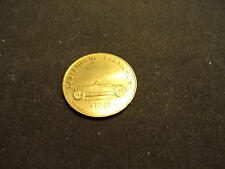 1921 Duesenberg Straight 8 Automobile Franklin Mint Antique Car Bronze Coin
