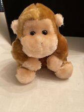 """2001 Kellytoy Plush Gorilla Monkey 10"""" Vintage Ape Chimp brown tan"""