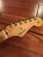 2014 Fender Stratocaster Strat SE Classic '50s RI Maple Tint Neck Tuners Plate