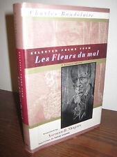 1st/1st Printing SELECTED POEMS Les Fleurs du Mal CHARLES BAUDELAIRE Classic