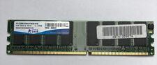 ADATA 1GB PC2700 333MHz 184-Pin DDR de escritorio RAM AD1333001GMU 1GX16