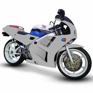 Unpainted ABS Plastic Motorcycle Fairing Kit for Honda VFR 400 R NC30 89-92