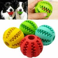 Chew Toys Pet Dog Toy Interactive Balls Pet Dog Puppy Tooth Clean Ball Food U8B4