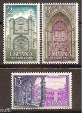 Spain Edifil # 2111/2113 ** MNH set. Monasterio de Santo Tomas Avila