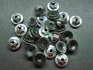 X25 nos 10-24 Sealer Moulding Clips Trim Emblem Nuts NOS