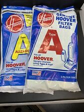 New Nos Genuine Hoover Type A Upright Vacuum Cleaner Bags 2 Bags Ea= 6 4010