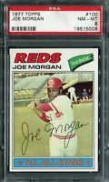 1977 Topps #100 Joe Morgan PSA 8 NM-MT