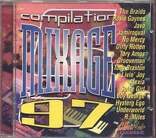 Mixage 5 - Compilation 97 - THE BRAIDS ALEXIA UNDERWORLD - CD 1997 NEAR MINT