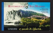 San Marino - #1494 Complete booklet, cat. $ 25.00