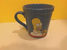Gran Taza De Los Simpsons Homero Simpson Donas Comer Buen Estado