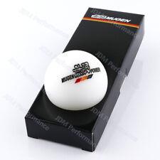 Universal Racing Mugen White Round Resin Universal Shift Knob Shifter Lever Knob