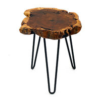 "Wooden Chair Rare 16"" Jujube Tree Leg Stool WELLAND"