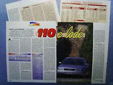 AUTO997-RITAGLIO/CLIPPING/NEWS-1997-AUDI A3 1.9 TDI AMBITION- 4 fogli