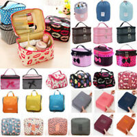 Travel Zip Up Cosmetic Make Up Case Bag Toiletry Beauty Handbag Purse Pouch Bags