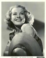 "1930's JOAN MARSH 8"" X 10"" PHOTO BY GENE KORNMAN IN NEAR MINT CONDITION"