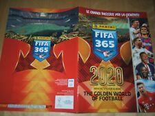ALBUM FIGURINE PANINI=FIFA 365 2020=ALBUM VUOTO+7 BUSTINE DI FIGURINE SIGILLATE