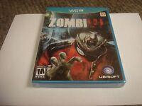 ZombiU  (Nintendo Wii U, 2012) new