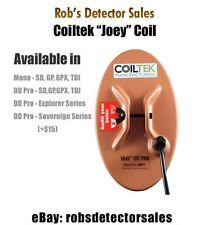 "Coiltek 10"" x 5"" Joey DD Pro Searchcoil for Minelab Explorer/ETrac & Quattro"