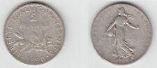 Gertbrolen 2 Francs  Argent Type Semeuse 1898