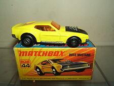 MATCHBOX SUPERFAST modello no.44b BOSS Mustang VN Nuovo di zecca con scatola