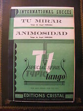 Partition Tango One Size Mirar Animosidad Angel Farelsda