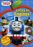 Thomas & Friends: Calling All Engines! [New DVD] Full Frame, Repackage