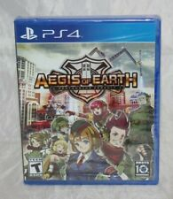 Aegis of Earth: Protonovus Assault (Sony PlayStation 4, 2016) Brand New Sealed
