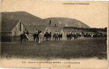 CPA  Camp de la Fontaine-du-Berger - Les Barequements    (222022)