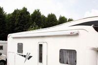 Fiamma Drip Stop Motorhome Caravan Gutter Rain Deflector 300cm Grey 03922A01G